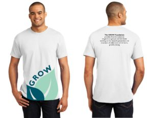 GROW Foundation t-shirt